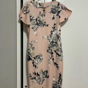 Clavin Klein floral dress